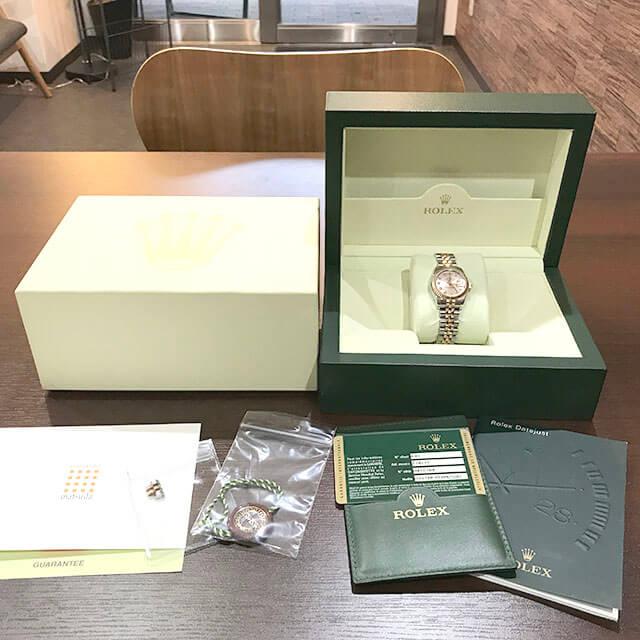 摂津のお客様からロレックスの腕時計【デイトジャスト】を買取_01