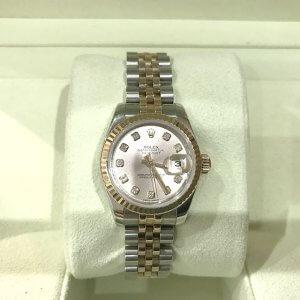 摂津のお客様からロレックスの腕時計【デイトジャスト】を買取