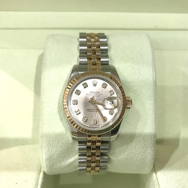 摂津のお客様からロレックスの腕時計【デイトジャスト】を買取_02