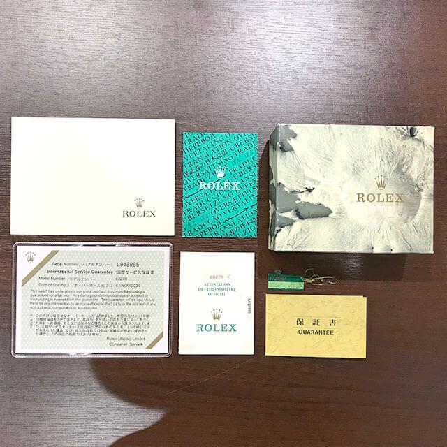 鶴橋のお客様からロレックスの金無垢の【デイトジャスト】を買取_04
