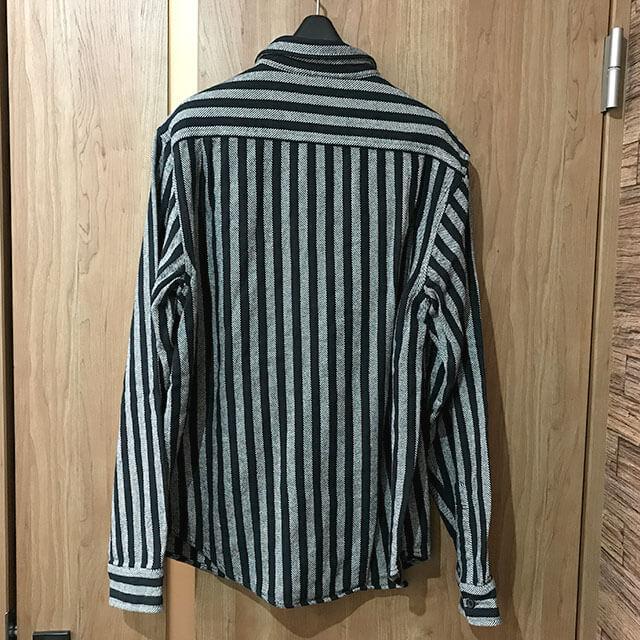 多治見のお客様からシュプリームの【Stripe Heavyweight Flannel Shirt】を買取_02