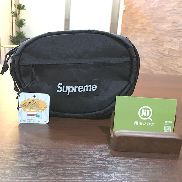 大阪のお客様からSupremeの【18AW Waist Bag】を買取_01