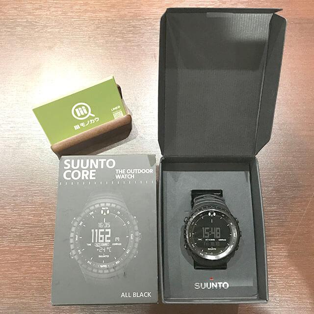京都のお客様からSUUNT(スント)の腕時計を買取_01