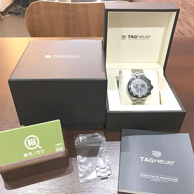 寝屋川のお客様からタグホイヤーの腕時計【フォーミュラ1 クロノグラフ】を買取_01