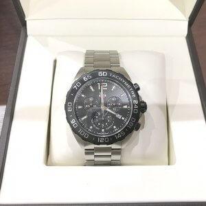 寝屋川のお客様からタグホイヤーの腕時計【フォーミュラ1 クロノグラフ】を買取
