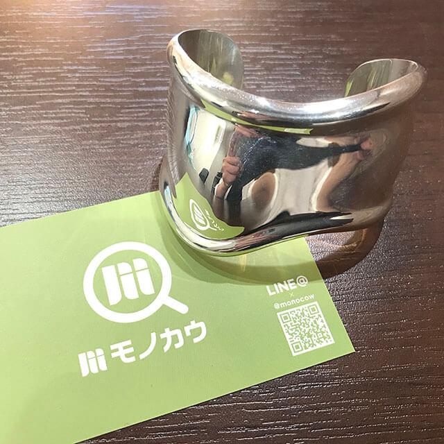 大阪玉造店にてティファニーの【ボーンカフ ブレスレット】を買取_02