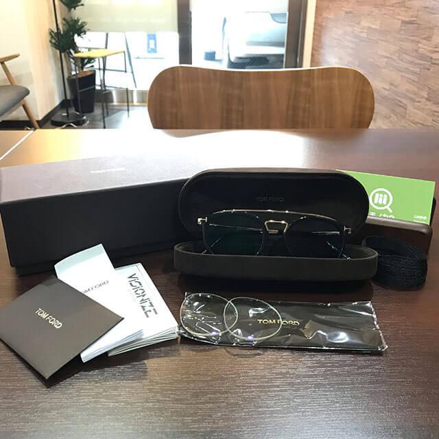出張買取にて福島のお客様からトムフォードのサングラス【TF5516-B】を買取_01