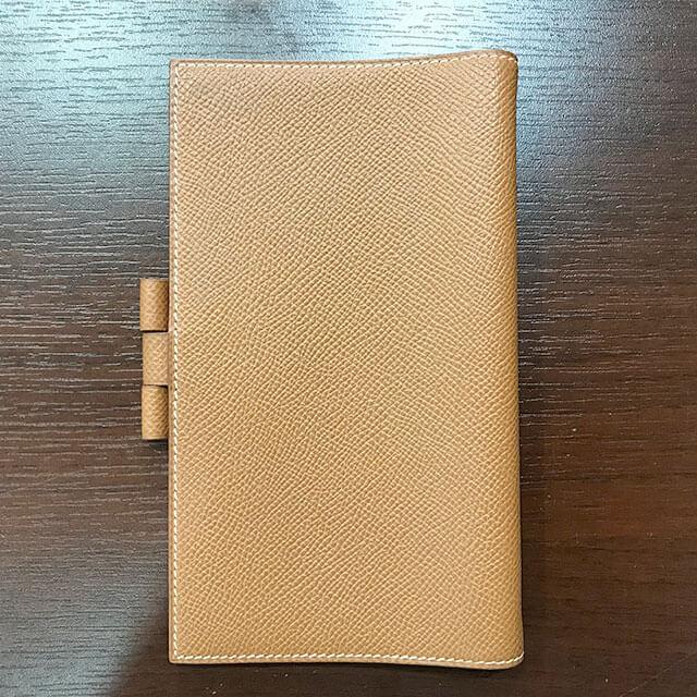 阿倍野のお客様からエルメスの手帳カバー【アジェンダPM】を買取_02