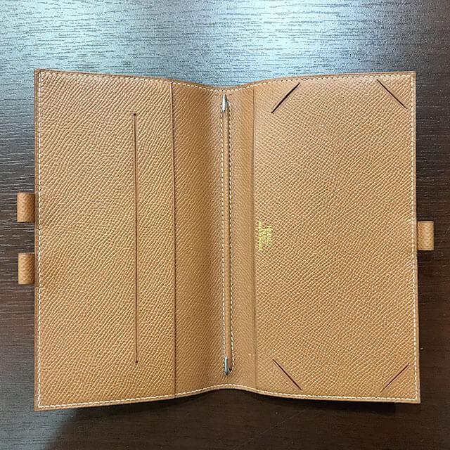 阿倍野のお客様からエルメスの手帳カバー【アジェンダPM】を買取_03