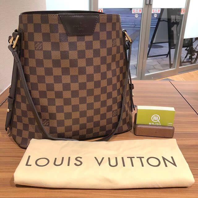 今福鶴見のお客様からヴィトンのバッグ【カバリヴィントン】を買取_01