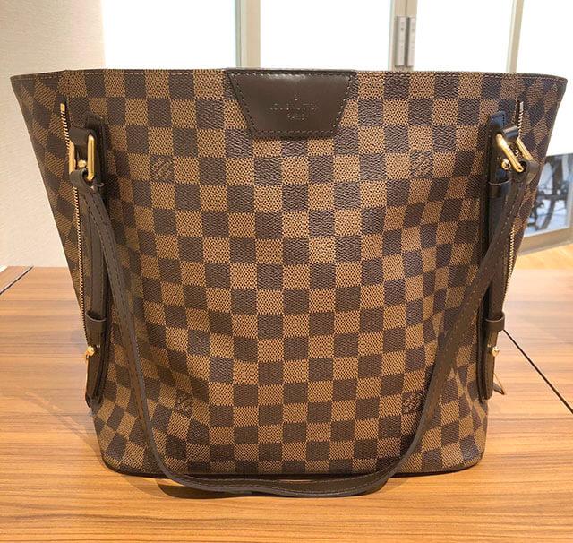 今福鶴見のお客様からヴィトンのバッグ【カバリヴィントン】を買取_02