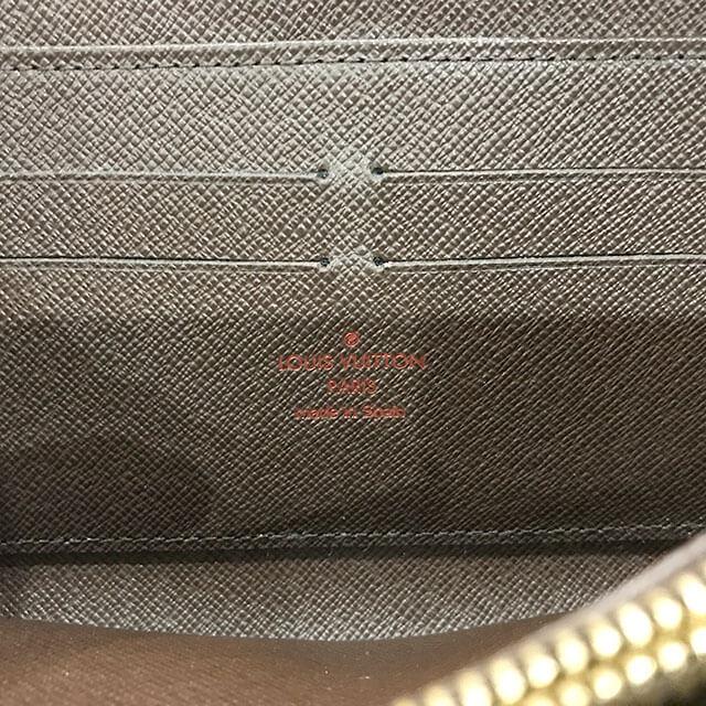 阿倍野のお客様からヴィトンのダミエの長財布【ジッピーウォレット】を買取_03