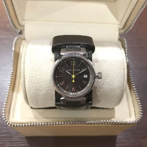 五條のお客様からヴィトンの腕時計【タンブール】を買取