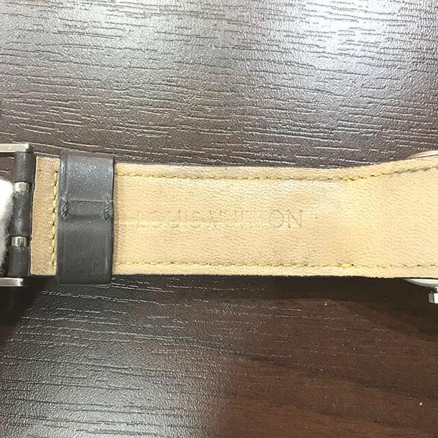 五條のお客様からヴィトンの腕時計【タンブール】を買取_04