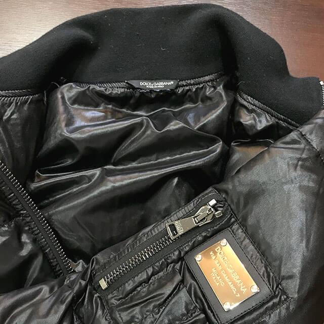 川口のお客様からドルチェ&ガッバーナのダウンジャケットを買取_03