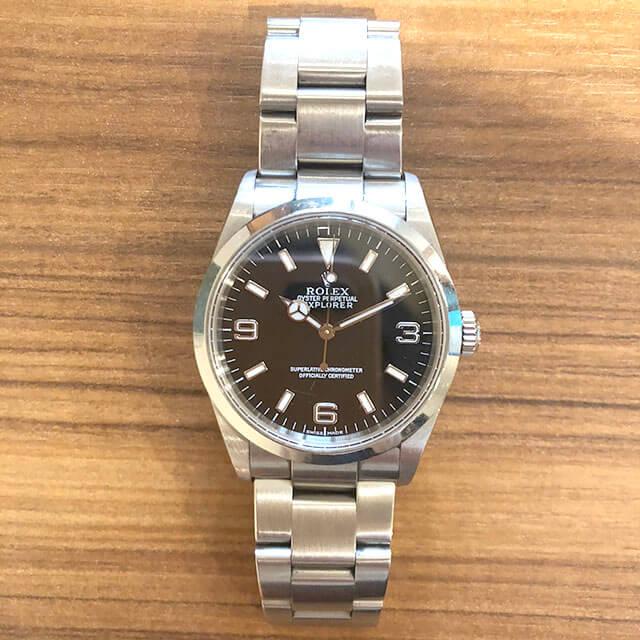 枚方のお客様からロレックスの腕時計【エクスプローラー1】を買取_02