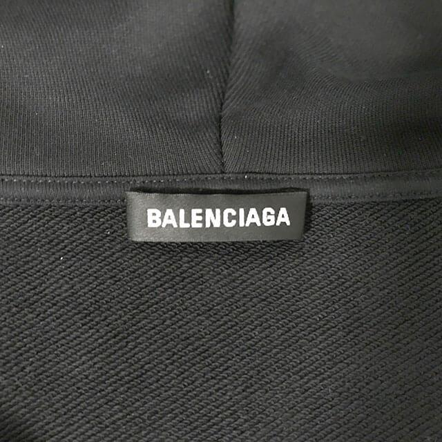 梅田のお客様からバレンシアガの【バックロゴジップアップフーディー(パーカー)】を買取_03