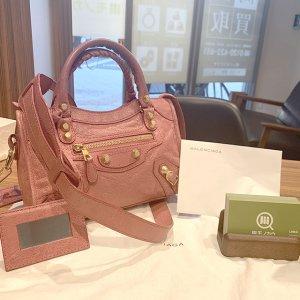 吹田のお客様からバレンシアガのバッグ【ジャイアント ミニシティ】を買取