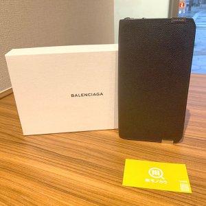 岸和田のお客様からバレンシアガのラウンドファスナー長財布を買取