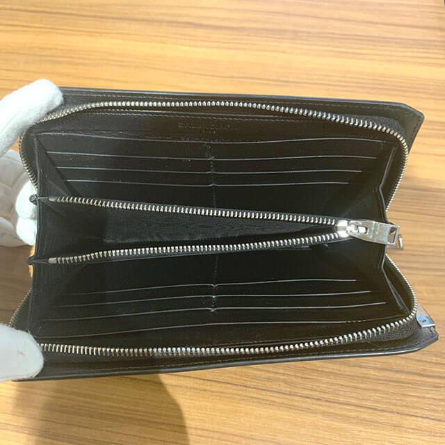岸和田のお客様からバレンシアガのラウンドファスナー長財布を買取_04