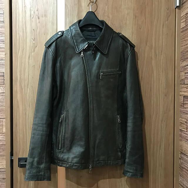 三田のお客様からバーバリーのブラックレーベルのジャケットを買取_01