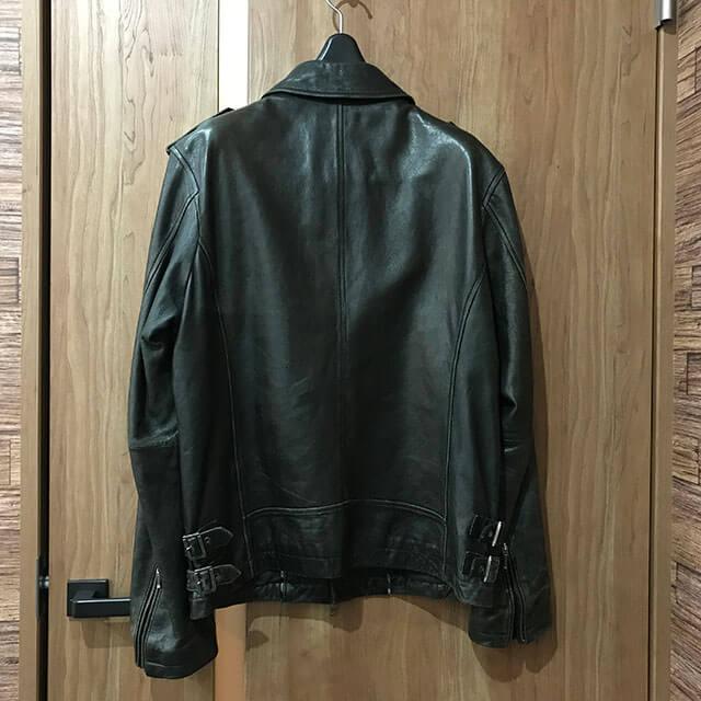 三田のお客様からバーバリーのブラックレーベルのジャケットを買取_02