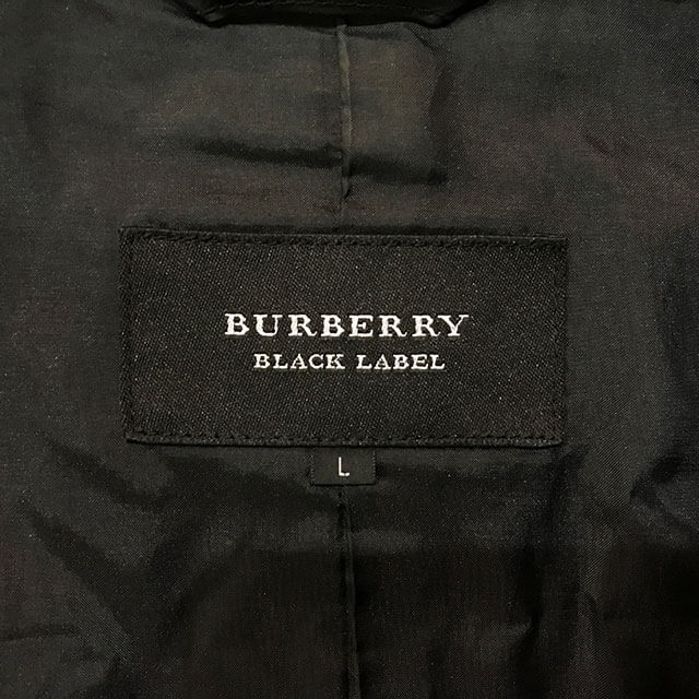 三田のお客様からバーバリーのブラックレーベルのジャケットを買取_03
