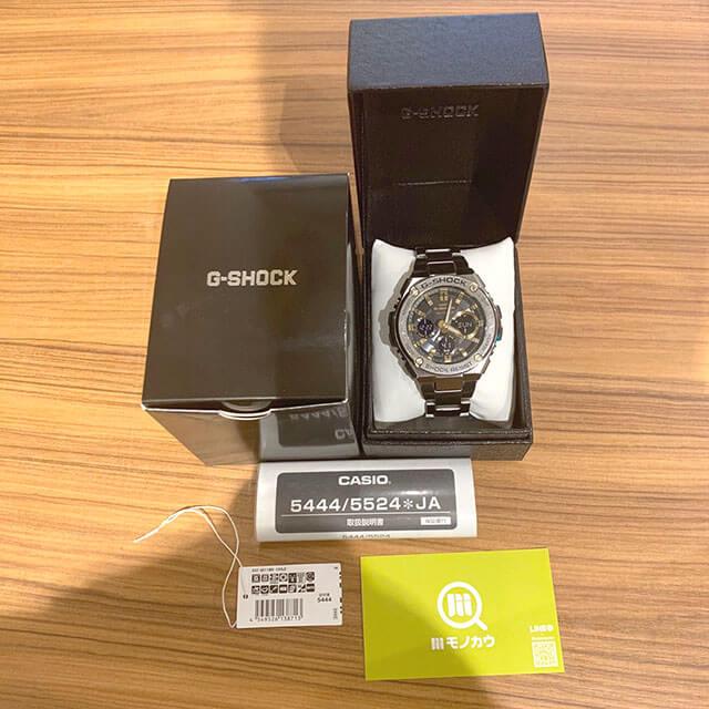 モノカウ玉造店にてカシオの腕時計【Gショック】を買取_01
