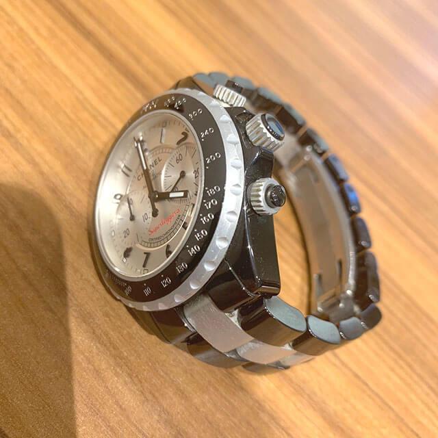 鴫野のお客様からシャネルの腕時計【J12 スーパーレッジェーラ】を買取_03
