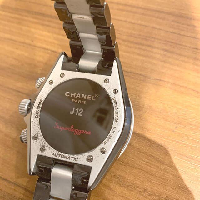 鴫野のお客様からシャネルの腕時計【J12 スーパーレッジェーラ】を買取_04