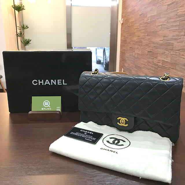 東成のお客様からシャネルのマトラッセチェーンショルダーバッグを買取_01