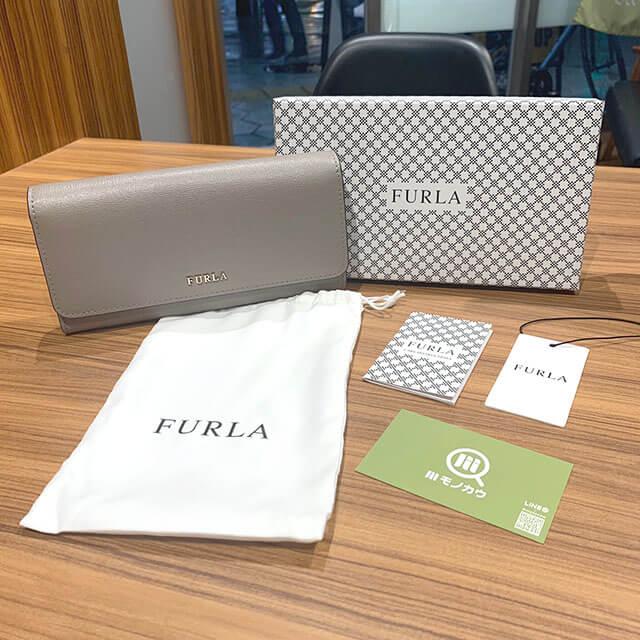 奈良のお客様からフルラの財布を買取_01