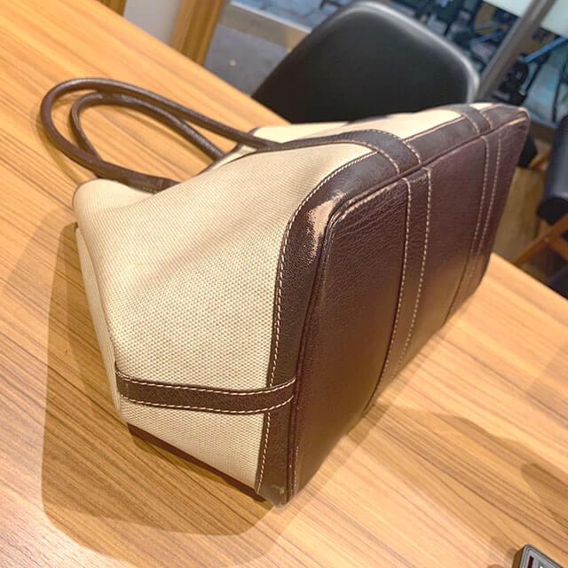 今里のお客様からエルメスのバッグ【ガーデンパーティ】を買取_03