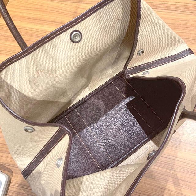 今里のお客様からエルメスのバッグ【ガーデンパーティ】を買取_04