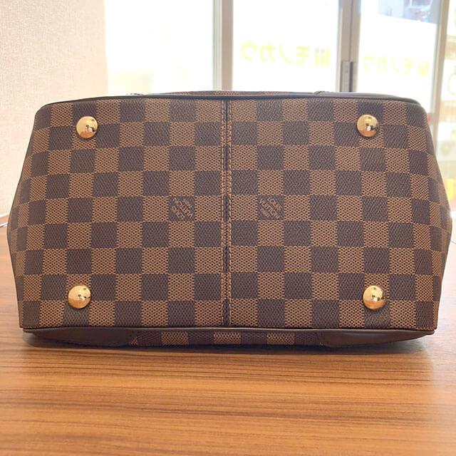 石切のお客様からヴィトンのダミエのバッグ【ヴェローナPM】を買取_03