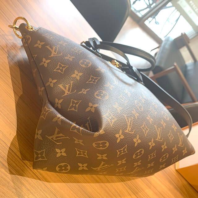 北見のお客様からヴィトンの2wayバッグ【ジップドトート】を買取_04