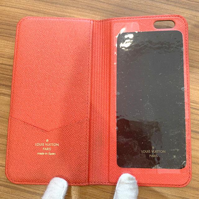 梅田のお客様からヴィトンのアイフォンケースを買取_04