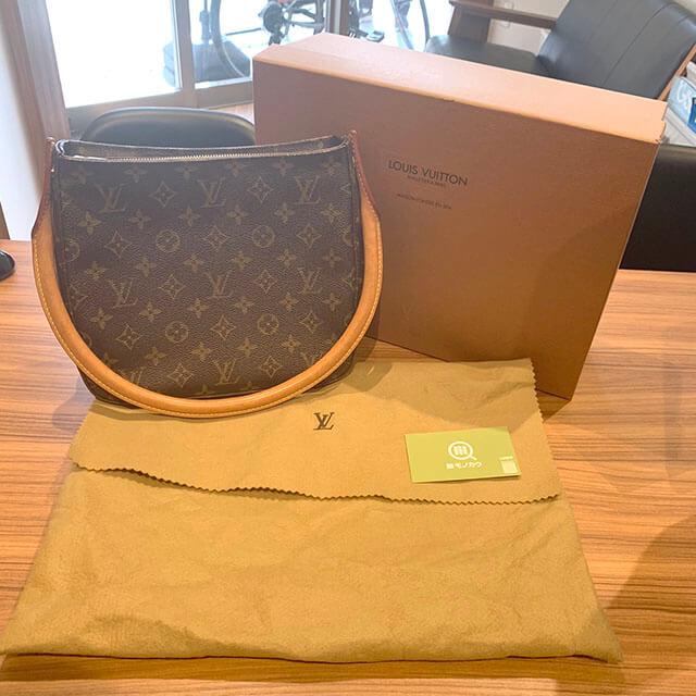 モノカウ緑橋店にてヴィトンのバッグ【ルーピングMM】を買取_01