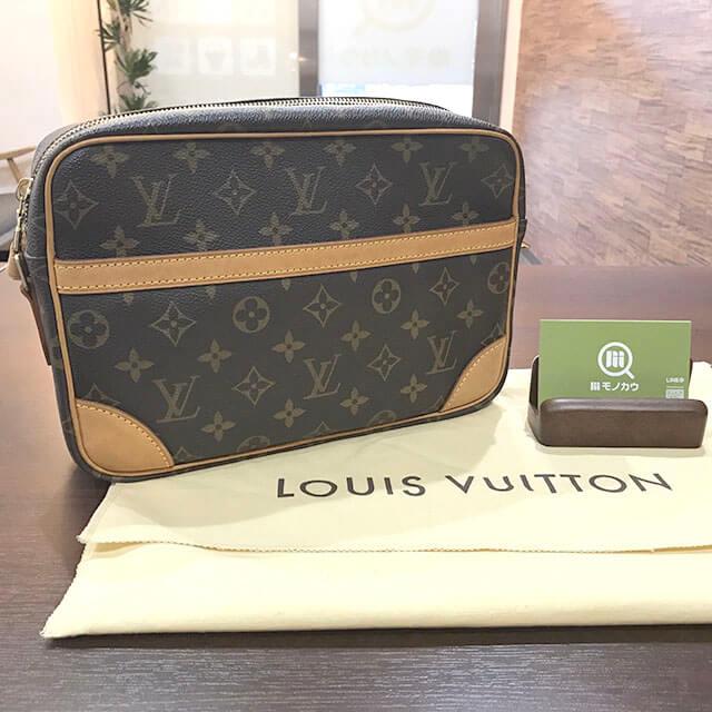 交野のお客様からヴィトンのバッグ【トロカデロ】を買取_01