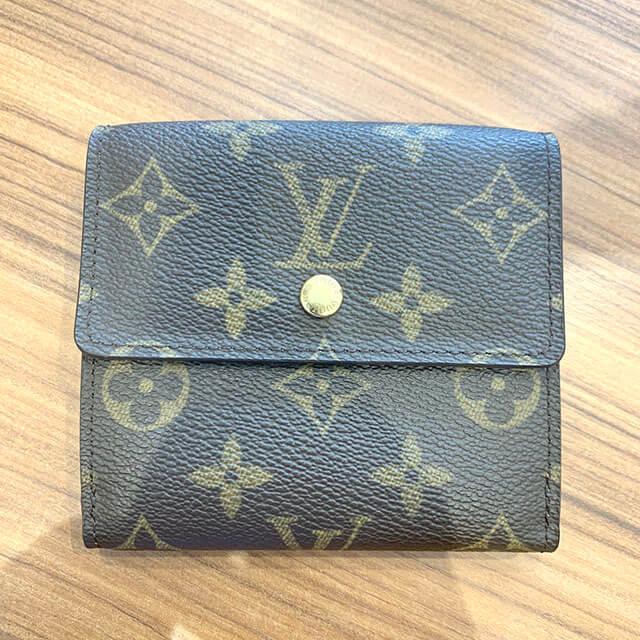 モノカウ緑橋店にて東成区のお客様からヴィトンのWホック財布を買取_02