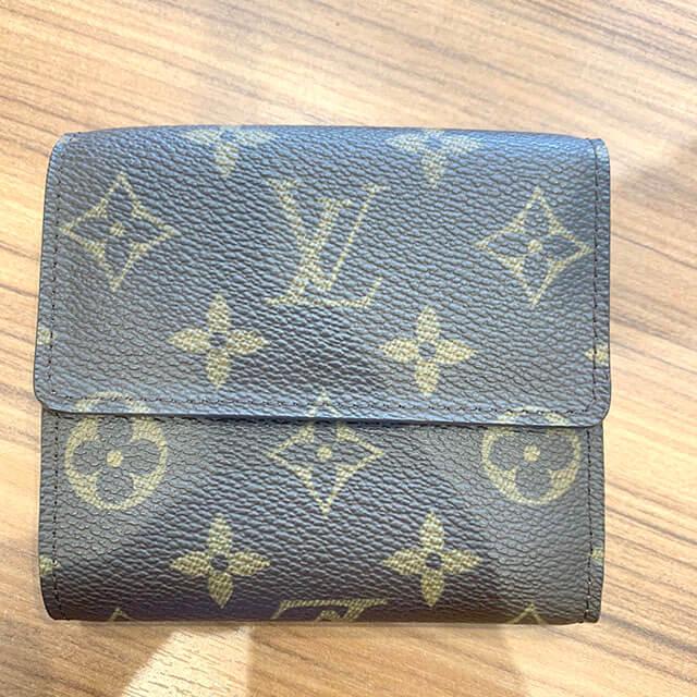モノカウ緑橋店にて東成区のお客様からヴィトンのWホック財布を買取_03
