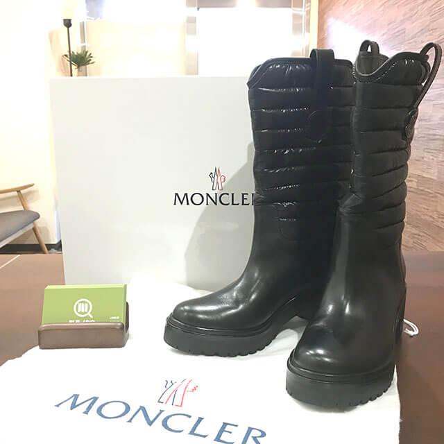 吹田のお客様からモンクレールのロングブーツを買取_01