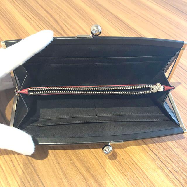 平野のお客様からポールスミスのがま口長財布を買取_04