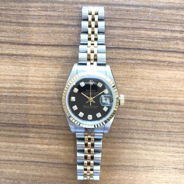 住之江のお客様からロレックスの腕時計【デイトジャスト(Ref.69173G)】を買取_02
