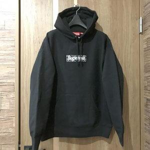 奈良のお客様からシュプリームの【19AW Bandana Box Logo Hooded Sweatshirts】を買取