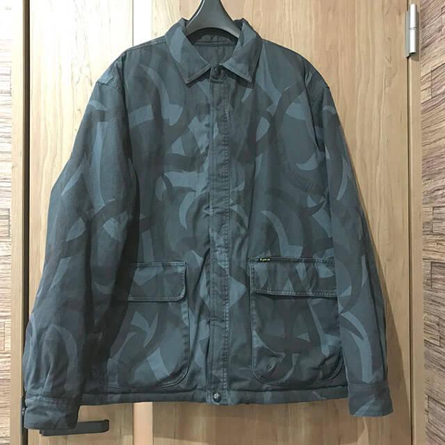 九条のお客様からシュプリームの【19AW Reversible Puffy Work Jacket Tribal】を買取_01