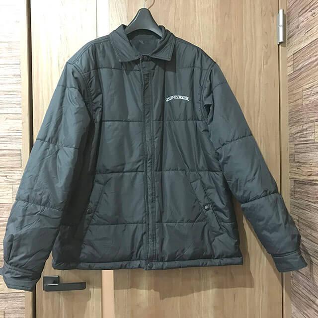 九条のお客様からシュプリームの【19AW Reversible Puffy Work Jacket Tribal】を買取_03