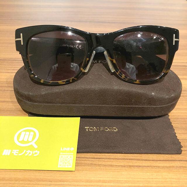 大阪のお客様からトムフォードのサングラス【Cary】を買取_01