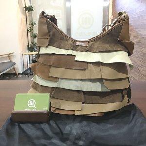 モノカウ玉造店にてイヴサンローランのバッグ【ティアードフリル サントロペ】を買取