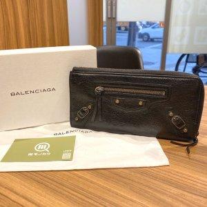 天下茶屋のお客様からバレンシアガの長財布を買取